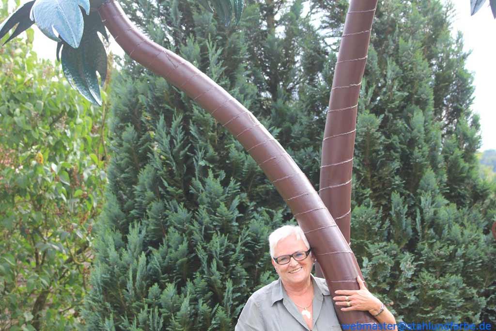 S Amp F Garden Sculptures Decoration Palm Trees Garden